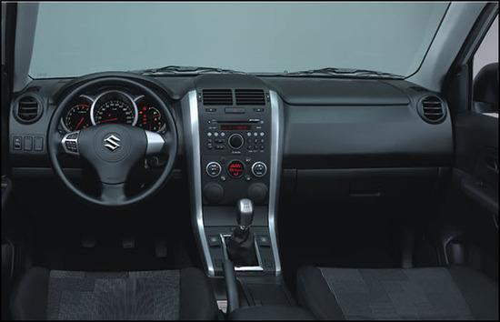 Suzuki Grand Vitara 5 puertas, diseno interior