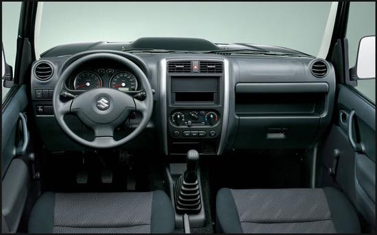 Suzuki Jimny, diseno interior