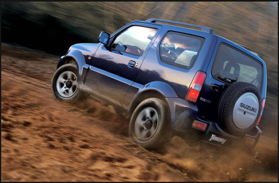 Suzuki Jimny, potencia