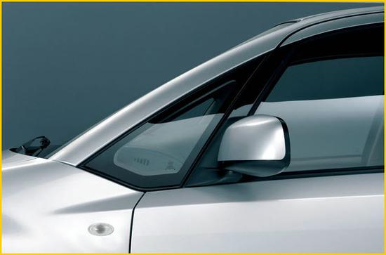 Suzuki SX4 Sedan, Espejo retrovisor