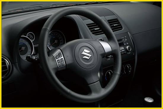 Suzuki SX4, Sedan timón