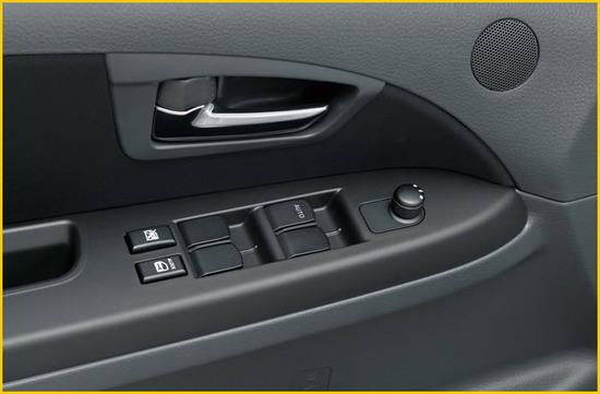 Suzuki SX4 Sedan, vidrios eléctricos