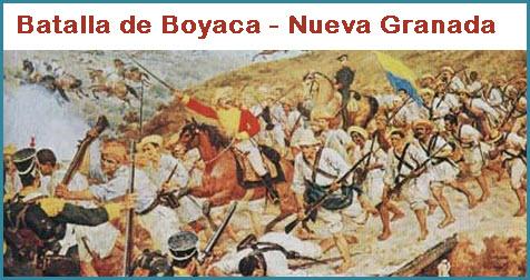 7 de Agosto, La Batalla de Boyaca
