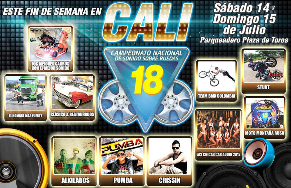 eventos car audio cali 2012