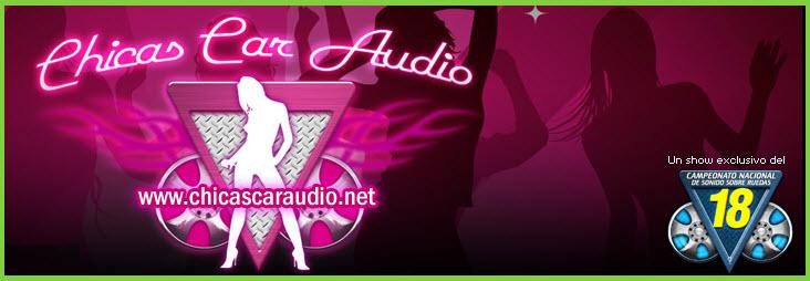chicas car audio 2012