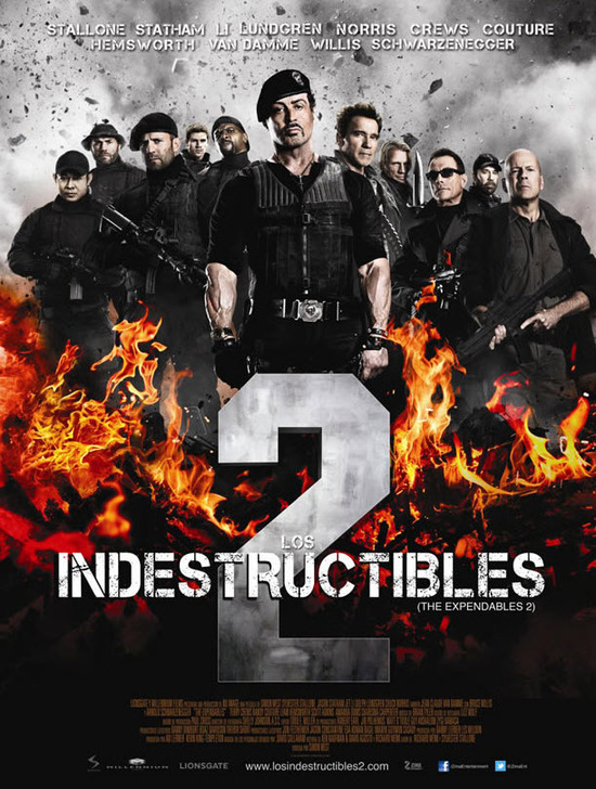 los indestructibles 2 poster