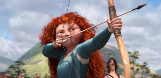 Personaje de valiente Melida