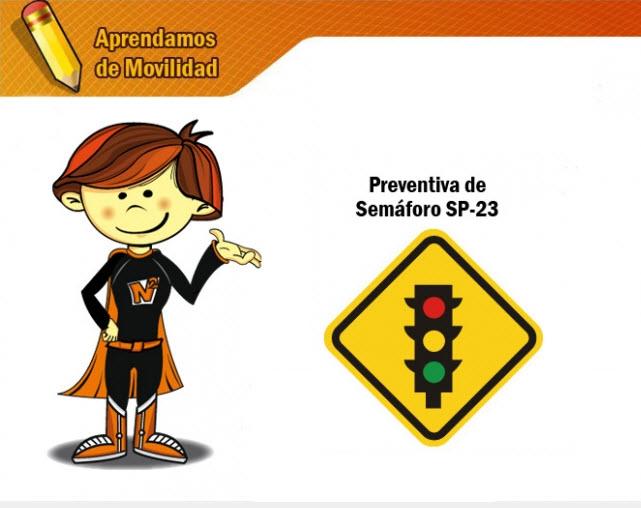 señal preventiva