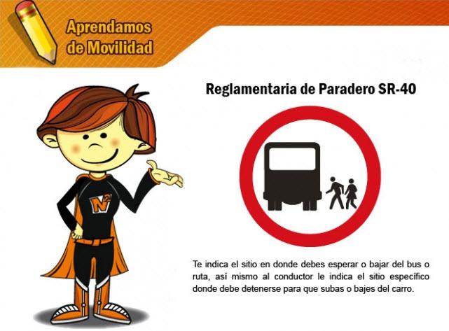 señal reglamentaria