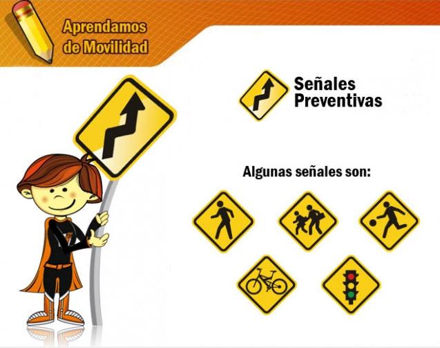 señales preventivas