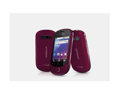 Alcatel One Touch 908, vista exterior