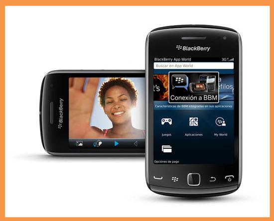 Blackberry Curve 9380, diseño exterior