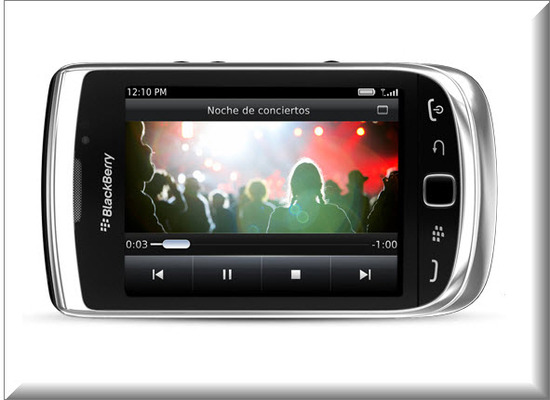 Blackberry Torch 9810, Grabación de Video