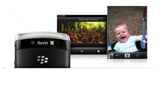 Blackberry Torch 9810, cámara y vídeo