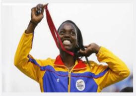 Catherine Ibarguen Ganó medalla de plata en Salto Triple