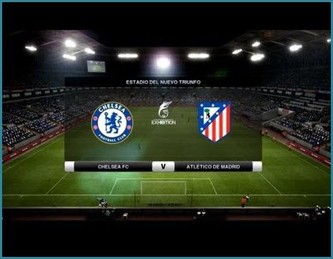 Chelsea contra Atlético Madrid, Super Copa Europea 2012