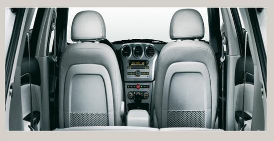 Chevrolet Captiva Sport 3.0, asientos