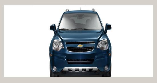 Chevrolet Captiva Sport 3.0, vista-parte frontal
