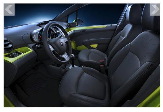 Chevrolet Spark 2013, confort
