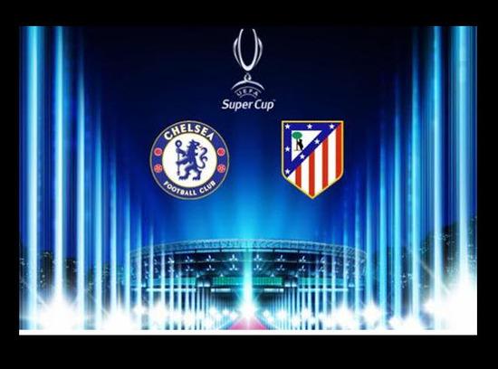 Falcao Garcia Atlético de Madrid contra Chelsea