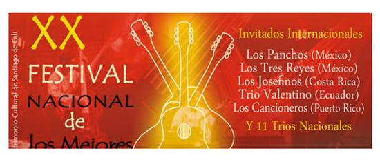 Festival Nacional de los Mejores Tríos 2012 en Cali