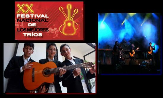 Festival Nacional de los Mejores Tríos en Cali