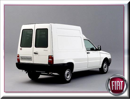 Fiat Fiorino Furgon, vista parte trasera