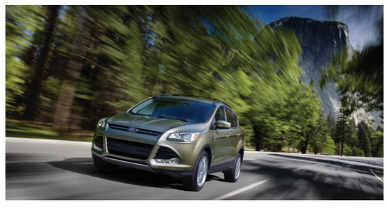 Ford Escape 2013 Colombia, potencia