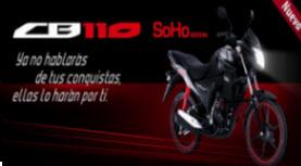 Nueva Honda CB110 Soho Edition 2013