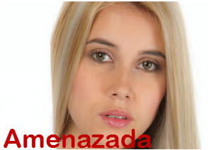 Manuela Amenzada por Talento Protagonistas de Nuestra Tele