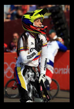 Mariana Pajón Ganó Medalla de Oro 2012