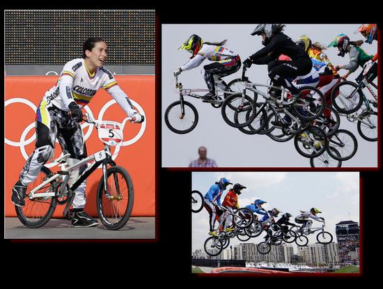 Mariana Pajón Gano Medalla de Oro en el BMX