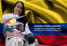 Mariana Pajón ganó Medalla de Oro, para Colombia en Londres 2012