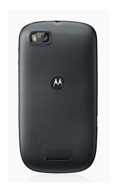 Motorola PRO +, atrás