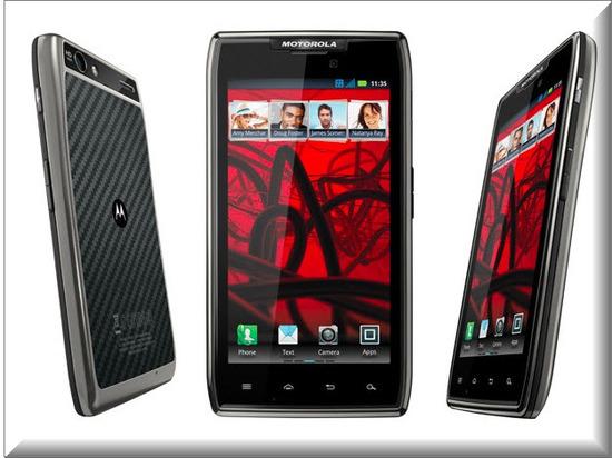 Motorola RAZR MAXX, diseño exterior