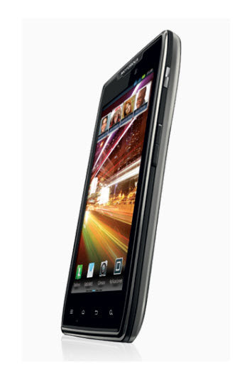 Motorola RAZR MAXX, vista angulo