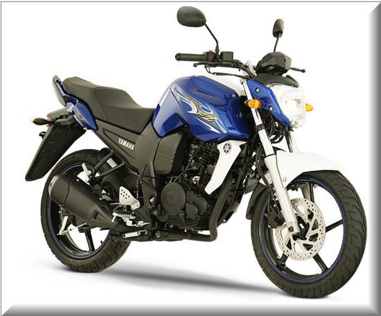 Nueva Yamaha FZ16, color azul
