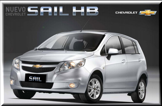 Chevrolet Sail Hatchback 2013