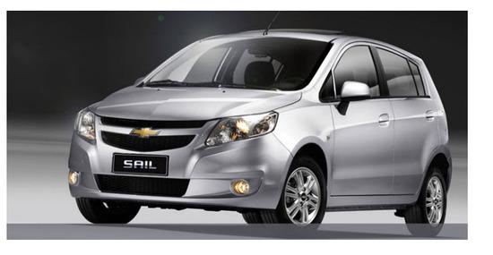 Nuevo Chevrolet Sail Hatchback 2013, vista lado izquierdo