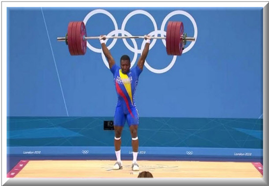 Oscar Figueroa Gano medalla de Plata Juegos Olímpicos 2012
