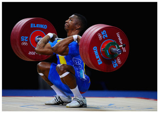 Oscar Figueroa Gano medalla de Plata Levantamiento de pesas 62Kg