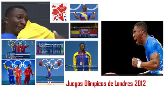 Oscar Figueroa Gano medalla de Plata en Juegos Olímpicos de Londres 2012