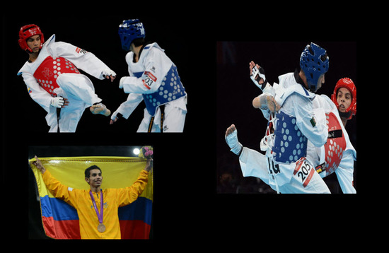 Oscar Muñoz gana medalla de bronce