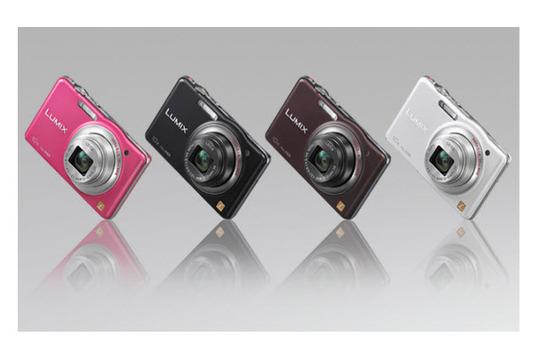 Panasonic Lumix DMC-SZ7, colores