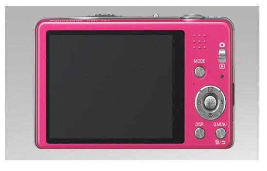 Panasonic Lumix DMC-SZ7, parte atrás