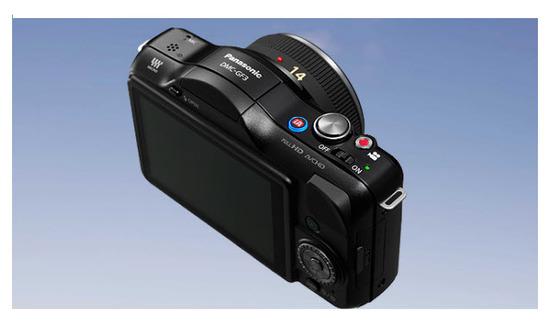 Panasonic Lumix G DMC-GF3CPP, atrás