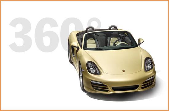 Porsche Boxster, vista parte frontal