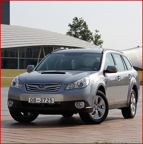 Subaru Outback, diseño exterior
