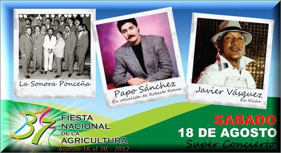 Super Concierto, Feria de Palmira 2012