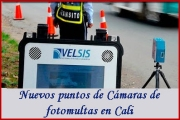 Foto multas en cali, nuevas cámaras